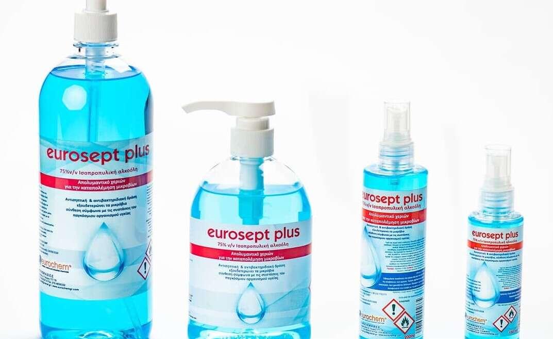 Αντισηπτικά Eurogel Plus
